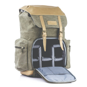 M-02 Canvas Camera Backpack