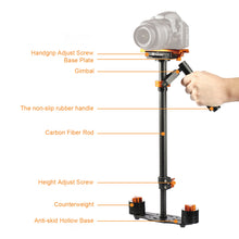 Load image into Gallery viewer, S60T Handheld Stabilizer 24inch/60cm