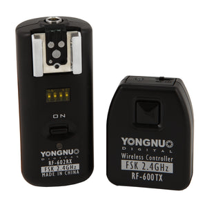 Yongnuo RF - 602 C3 2 in 1 Wireless Flash Trigger (Canon)