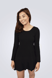 Elise Casual Long Sleeve Dress - Shopkenjo