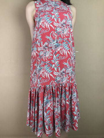 Amelia Red Fish Tail Dress