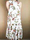 Abbey White Flower Dress