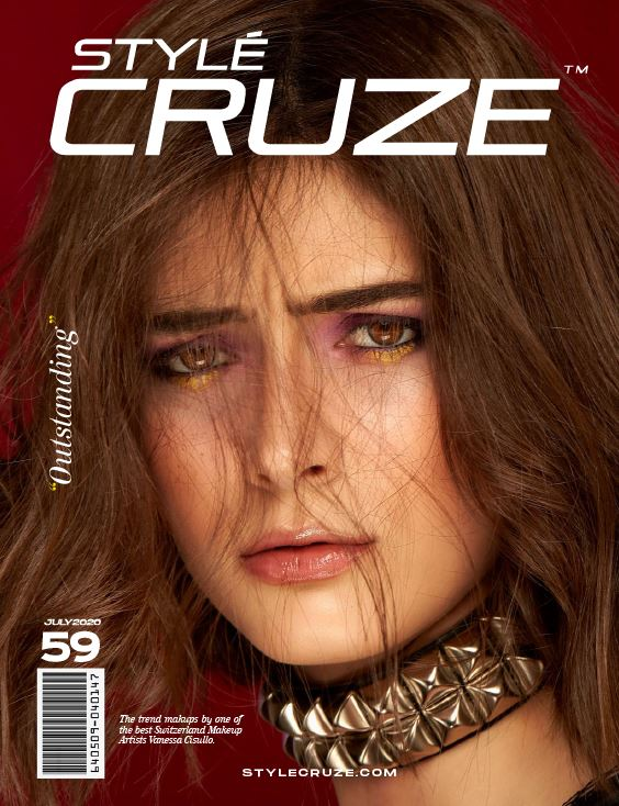 StyleCruze international magazine cover July 2020 Vol: 59