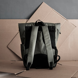 Gough Roll-Top Backpack (Camera/Laptop)