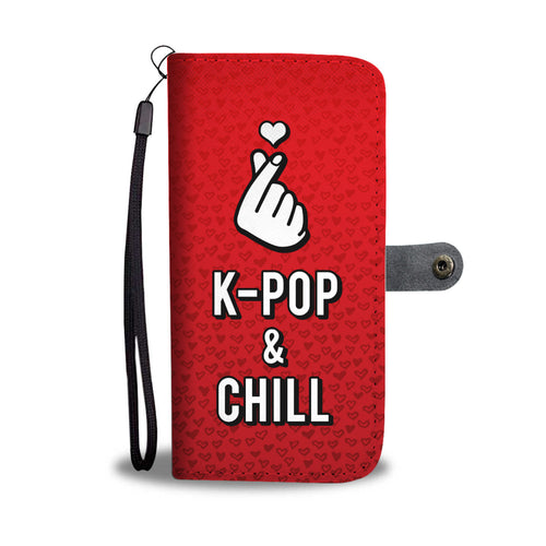 KPOP & CHILL Phone Wallet Case