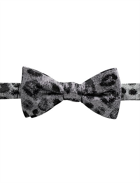 JAMES HARPER BLACK SILVER ANIMAL BOW