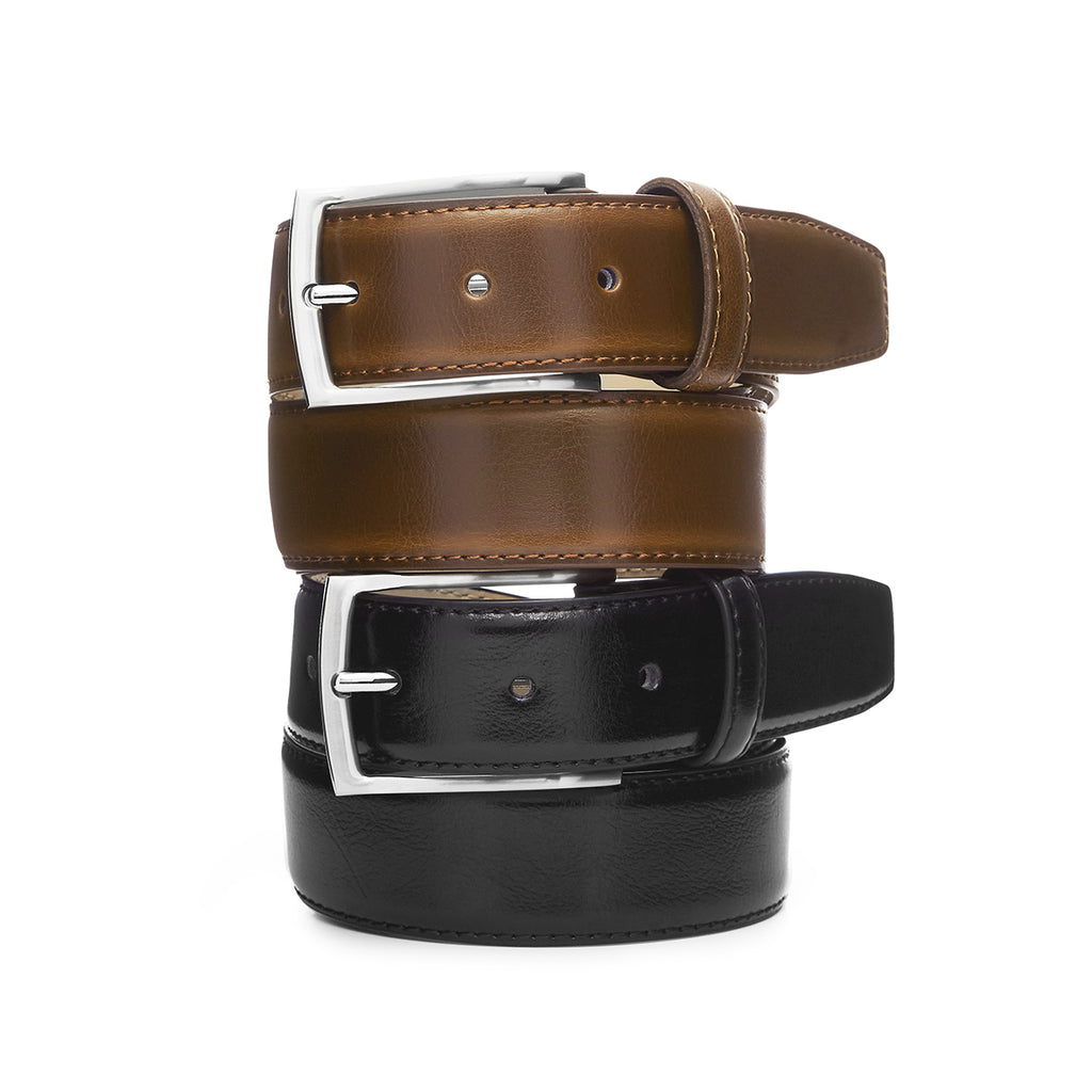 Buckle 'Casablanca' 35mm Mens Leather Belt