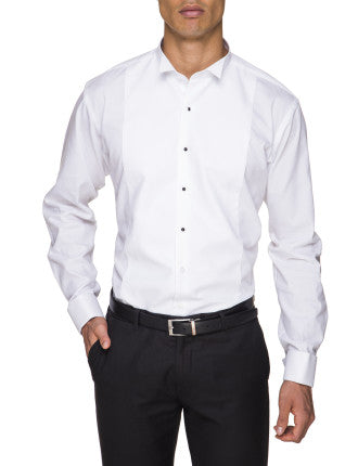 Abelard Formal Shirt - Marcella Wing Collar Stud Front