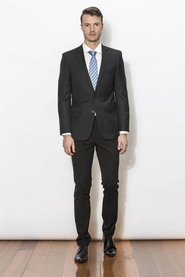 Black Franklin Suit (Formal Hire)