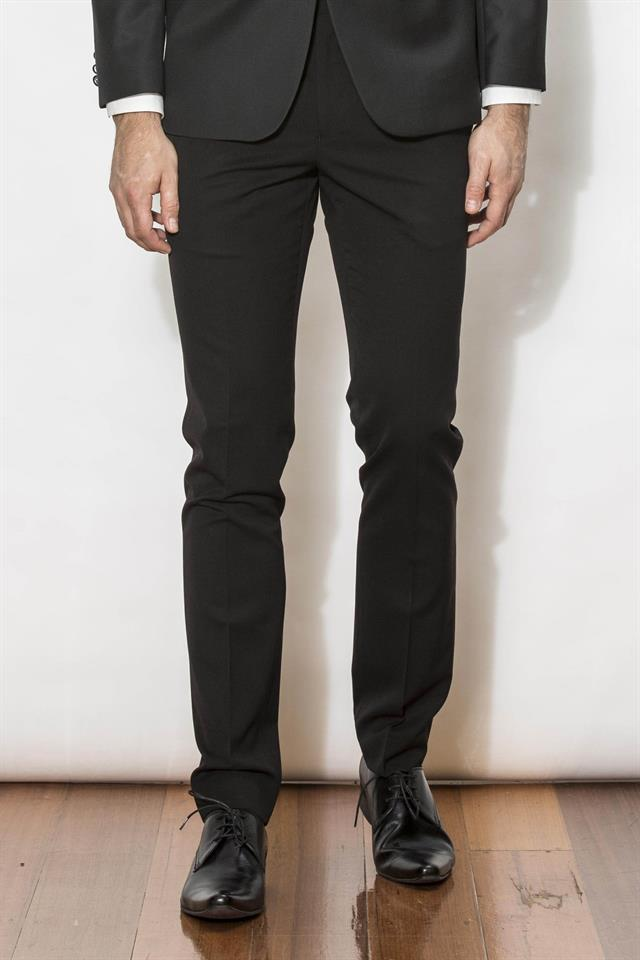 New England Trousers - Jet Black