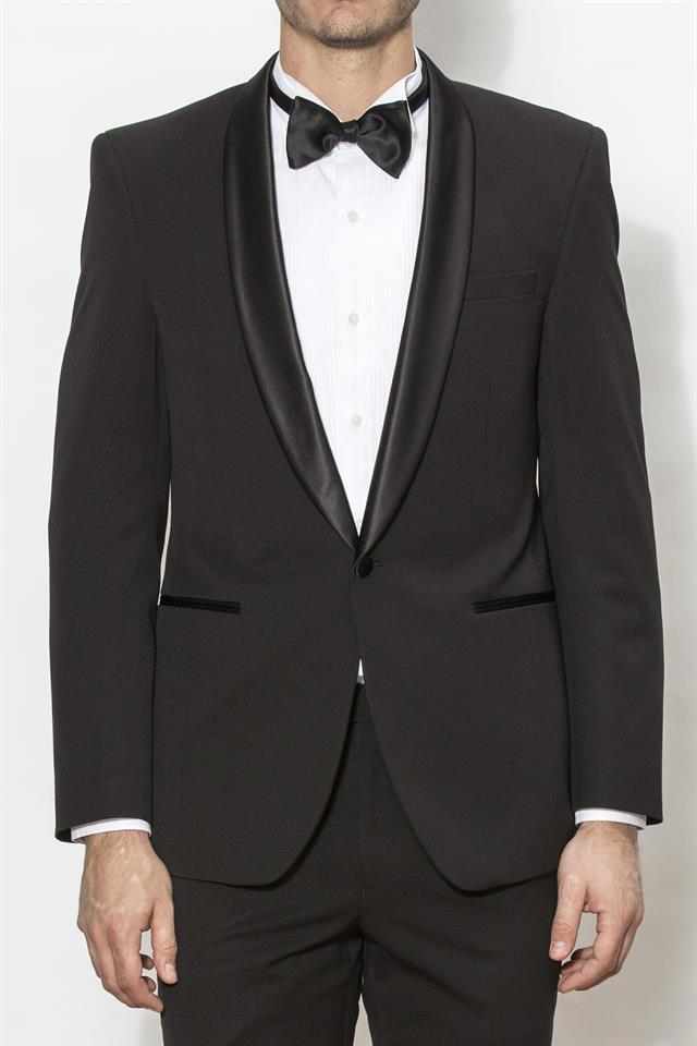 New England Dinner Suit/Tuxedo - Noble Black