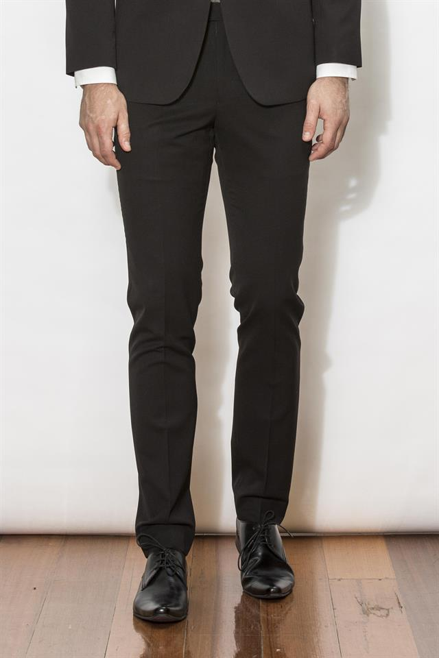 New England Trousers - Penn Black