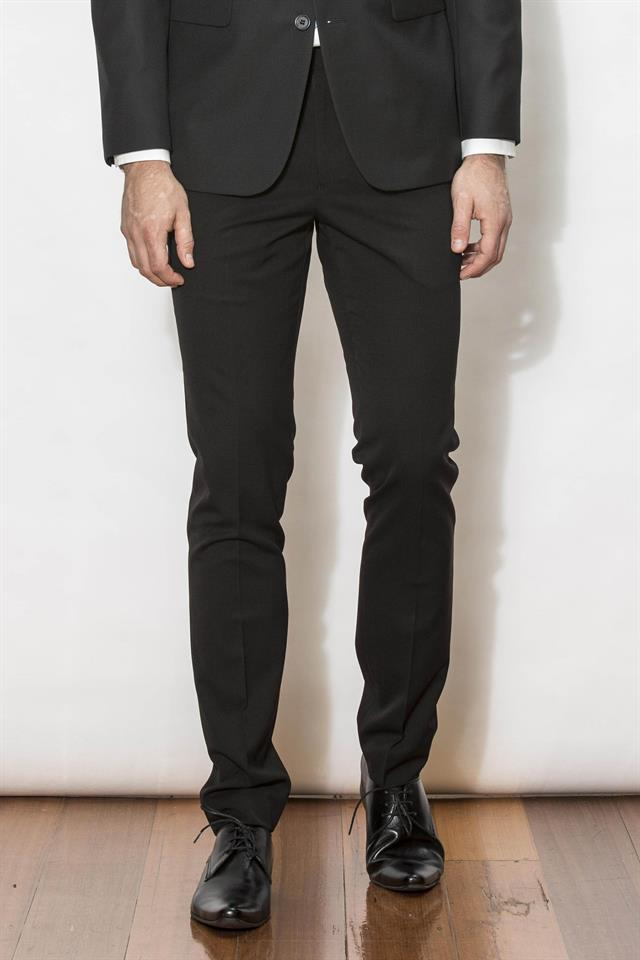 New England Suit - Jet Black
