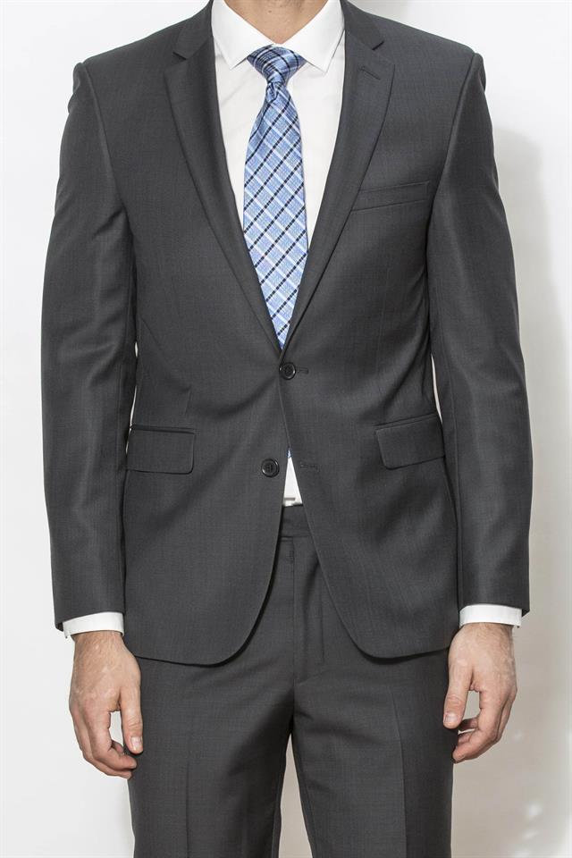 Charcoal Franklin Suit (Formal Hire)