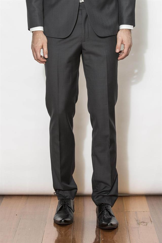 New England Trousers - Jet Charcoal