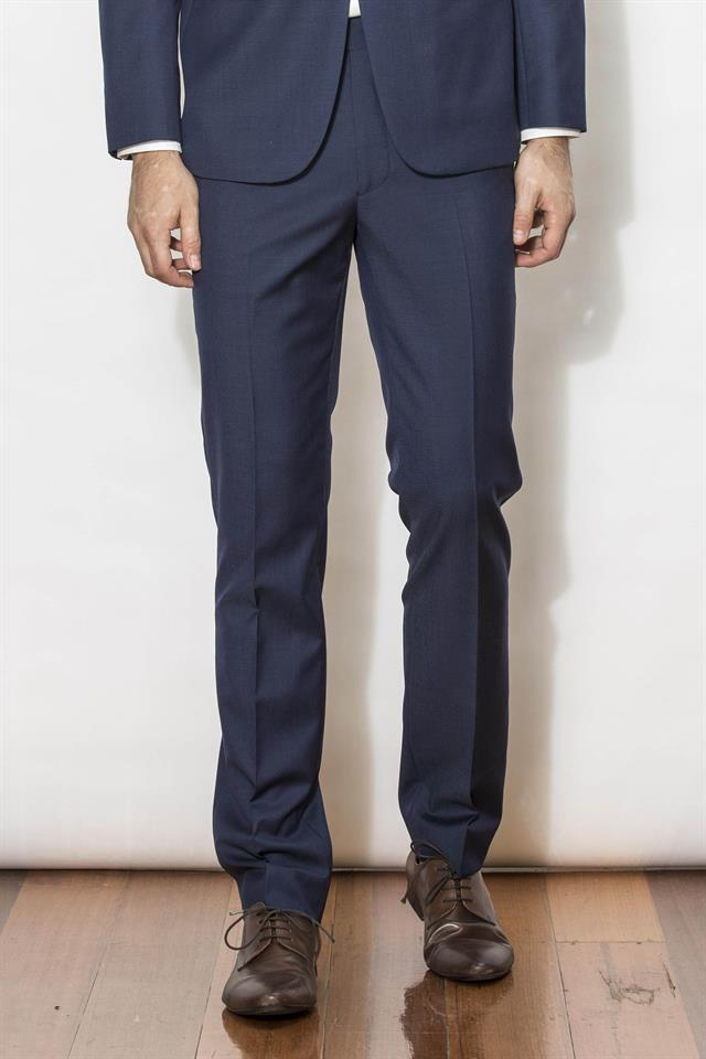 New England Trousers - Jet Mid Blu