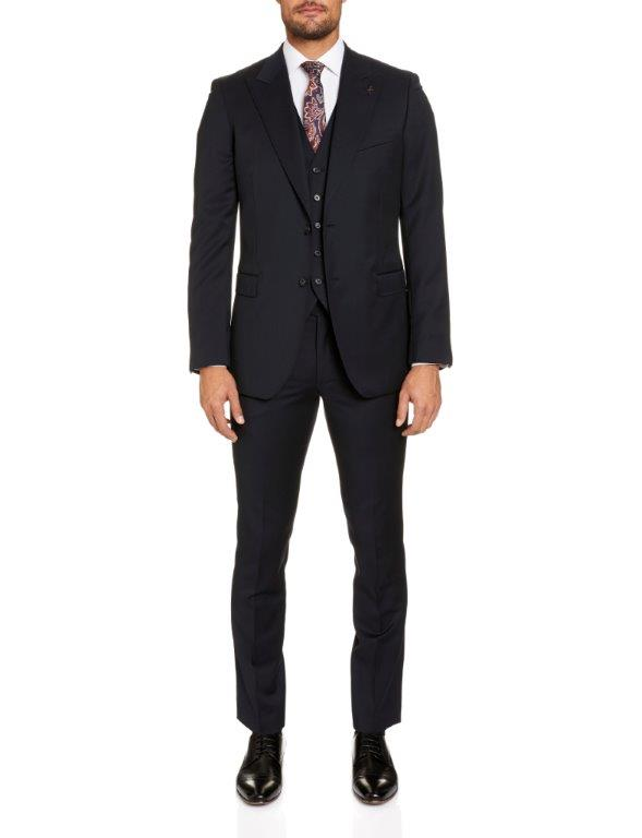 Studio Italia Lugano Black Suit