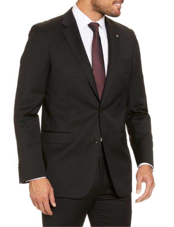 Studio Italia Icon Stretch Black Suit