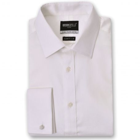 Brooksfield Shirt - The Classic Cream French Cuff