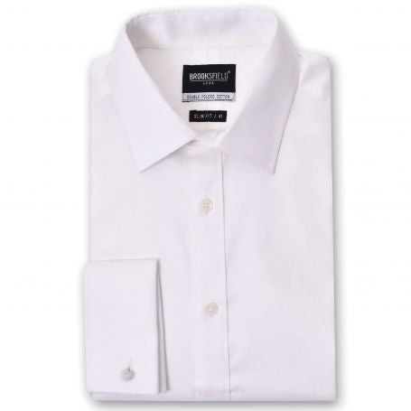 Brooksfield Shirt - The Classic White French Cuff