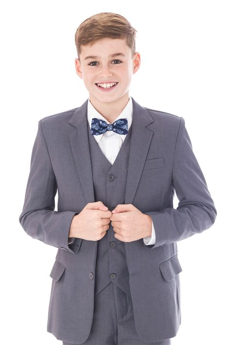 Children's Grey Suit (Formal Hire)