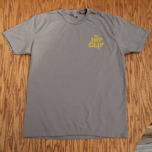 The Hip Clip™ Mens T-Shirt _ Vertical Chest / Horizontal Back