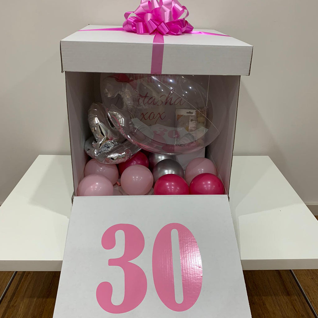 Jumbo Surprise Balloon in Box gift