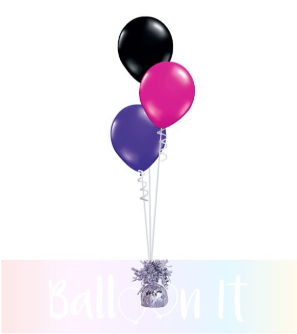 3 balloon bouquet
