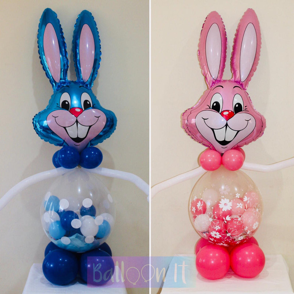 Easter Novelty Bunny Balloon gift
