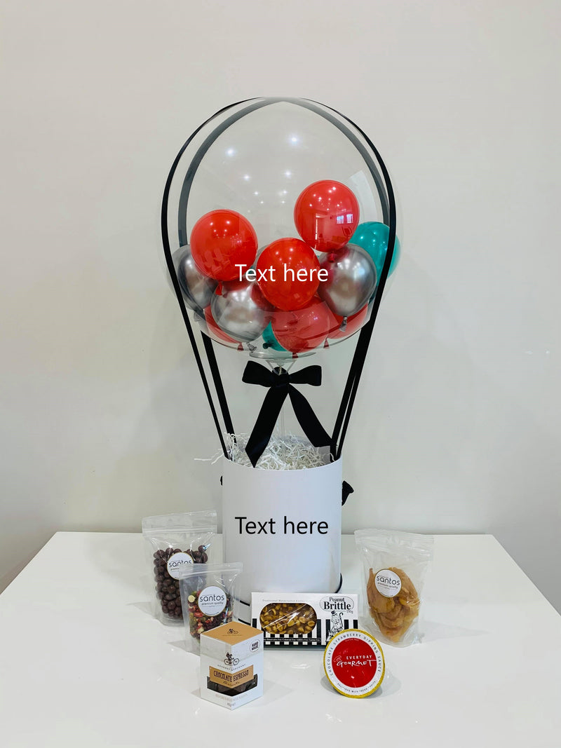 Hot Air Balloon Gift Hamper - Sweet