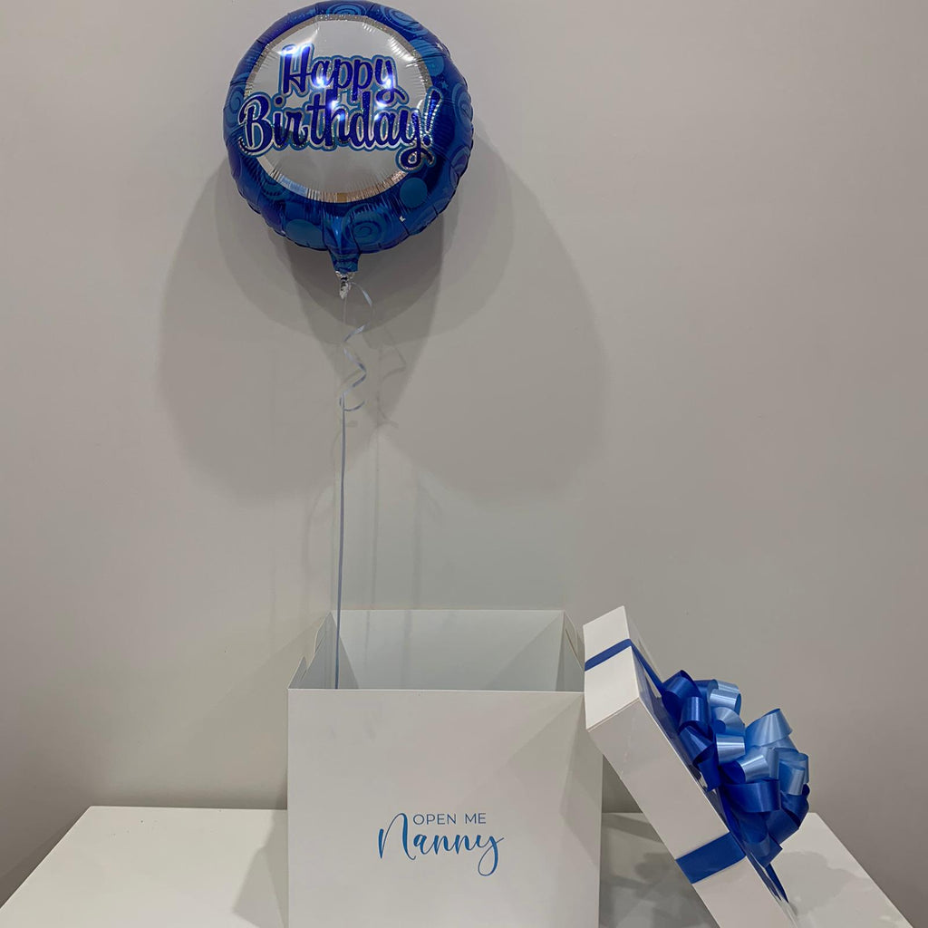 Mini Surprise Balloon in Box gift