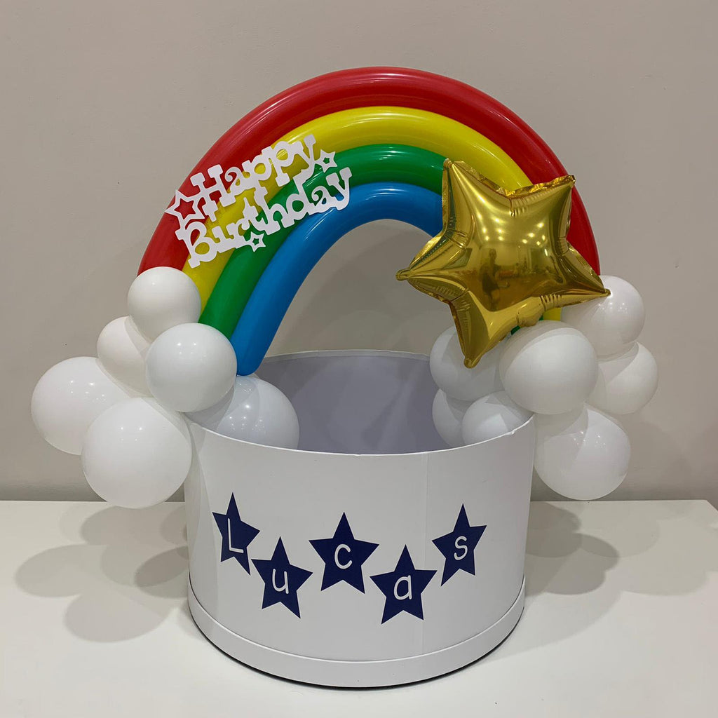 Over The Rainbow personalised gift box