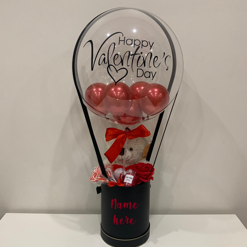 I Love You Berry Much Valentines Day  Hot Air Balloon Gift