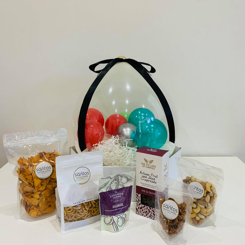 Balloon Gift Hamper - Savoury