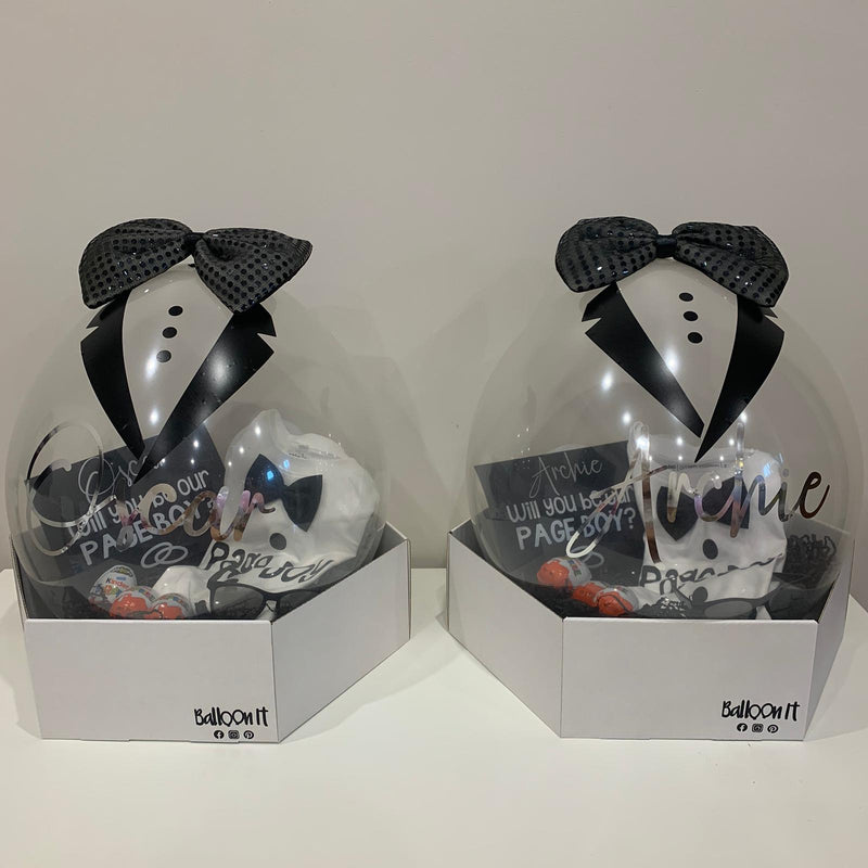 Pageboy/Flowergirl Proposal Balloon Gifts - Deluxe