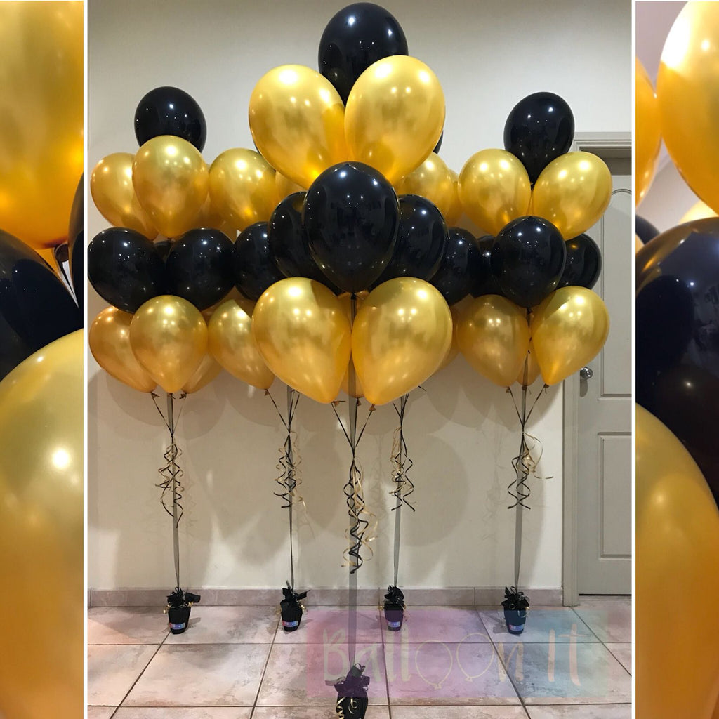 10 balloon bouquet