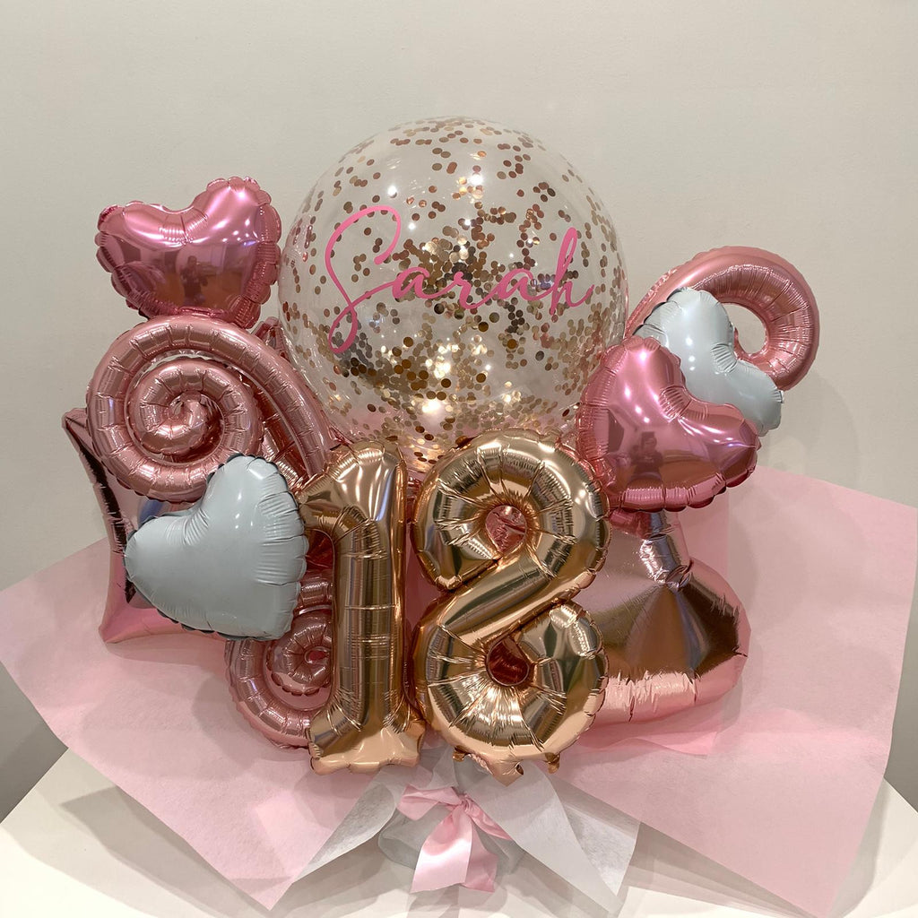Birthday Balloon Bouquets and Marquees