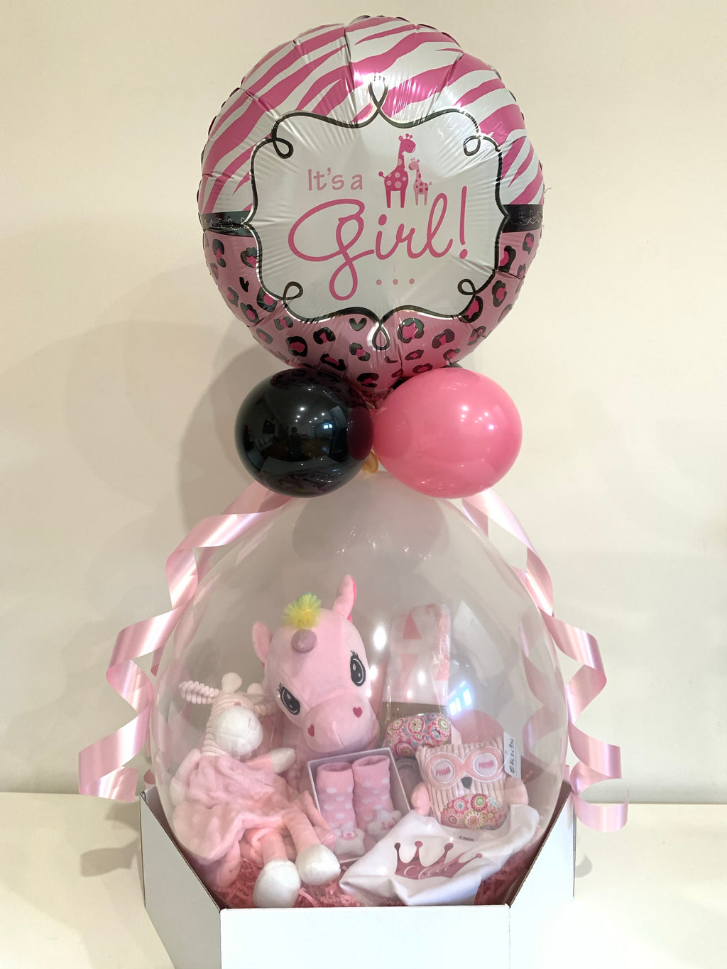 New Baby balloon gift