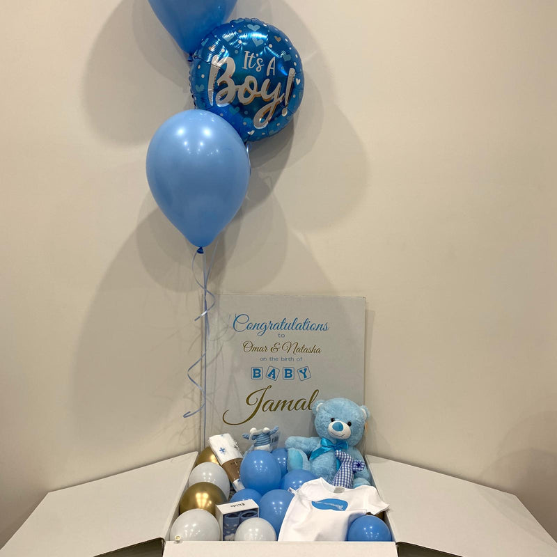 New Baby jumbo surprise balloon in box