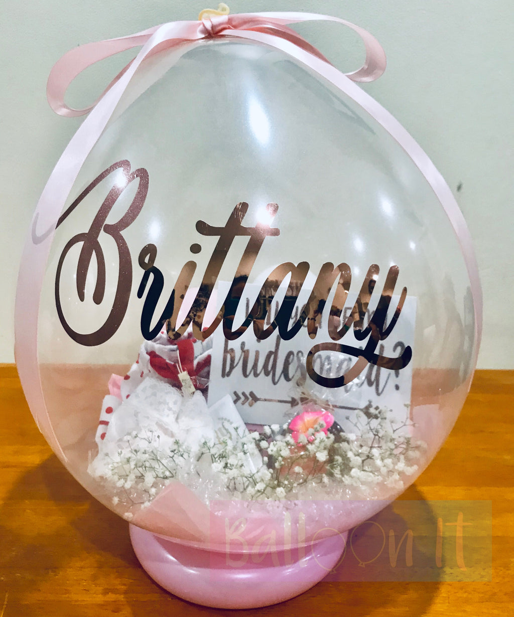 Bridesmaid Proposal Balloon Gifts