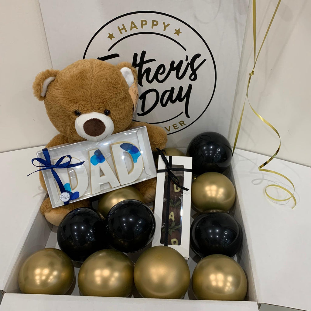 SWEETEST Dad Fathers Day Junior Surprise Balloon in Box