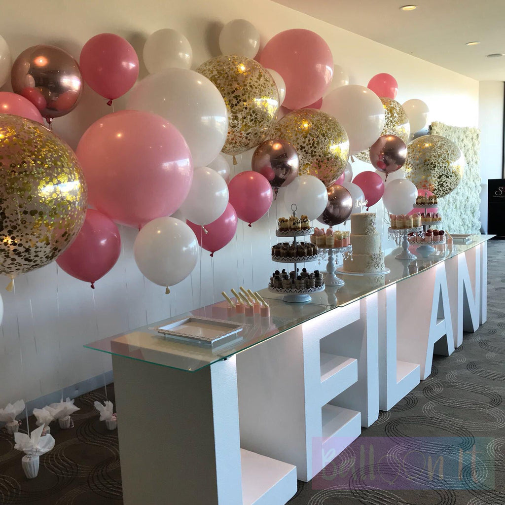 Helium Balloon Wall