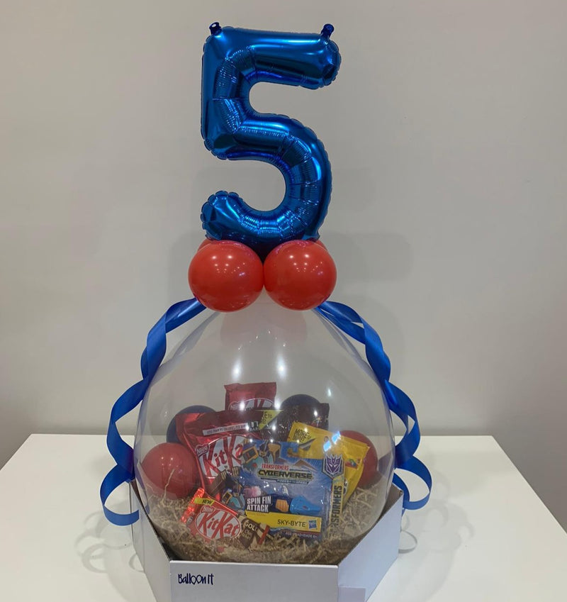 Licensed kids birthday balloon gifts