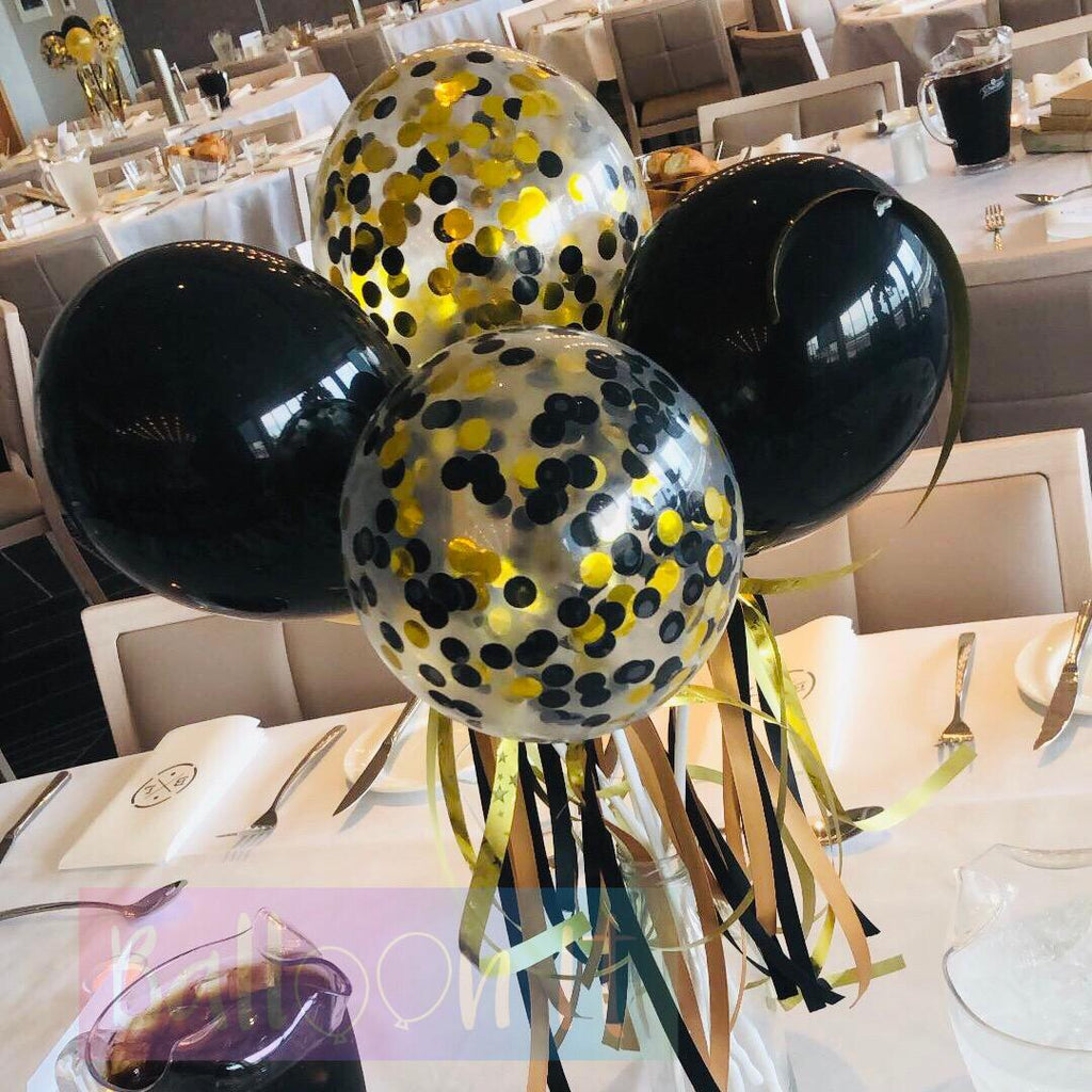 Graduation balloon decor