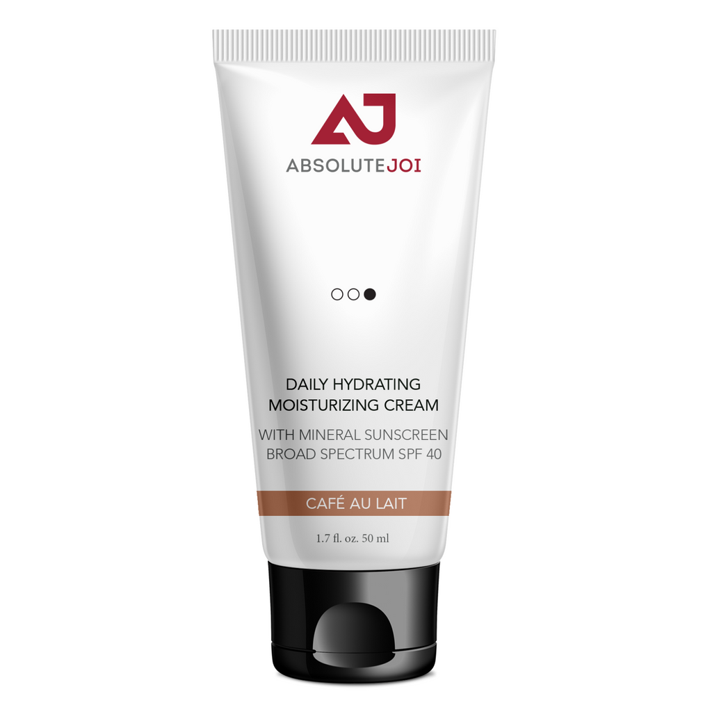 Daily Hydrating Moisturizing Cream with Mineral Sunscreen Broad Spectrum SPF 40 -- Reserve Yours Today for 20% Off. Shipping March 1st - AbsoluteJOI SkinCare