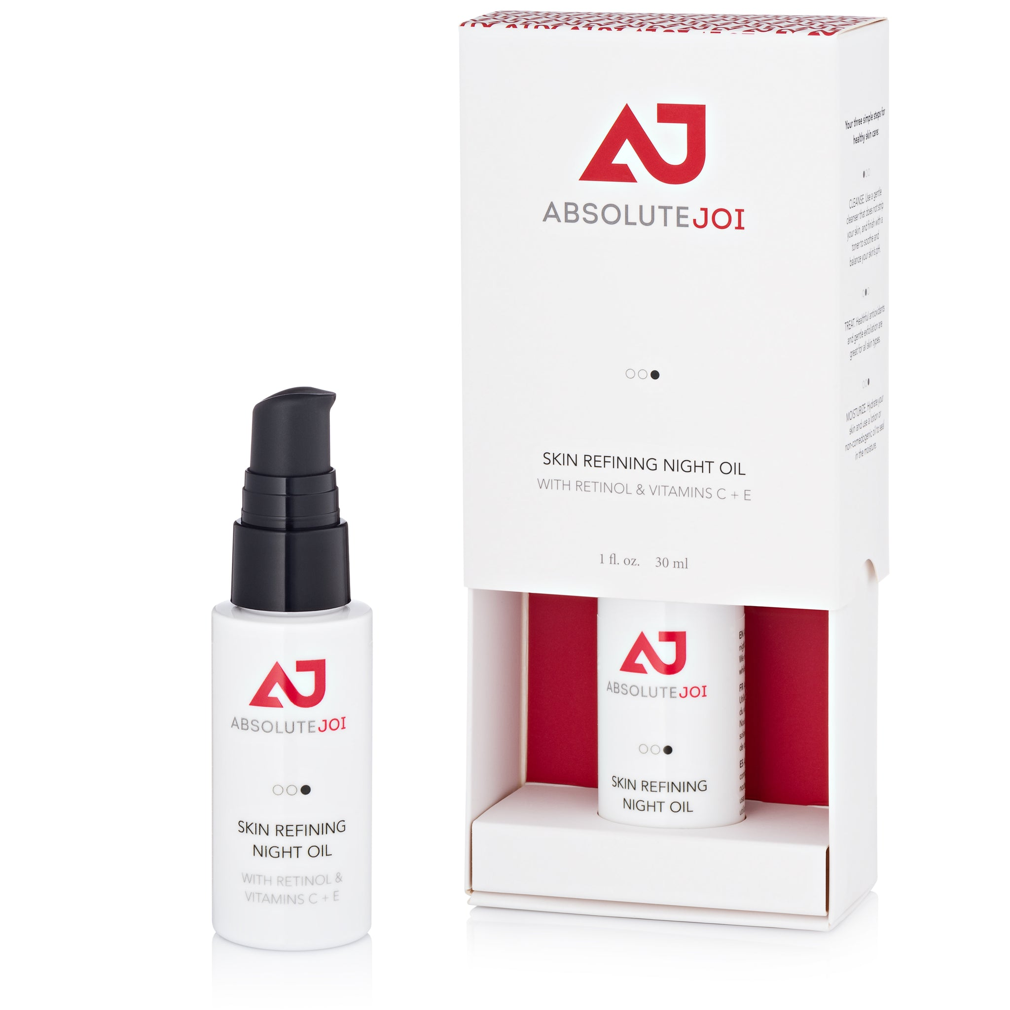 Skin Refining Night Oil with Retinol and Vitamins C+E - AbsoluteJOI SkinCare