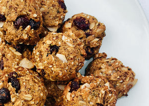 Whip it Up: Guilt-Free, Gluten-Free Oatmeal Cranberry Cookies