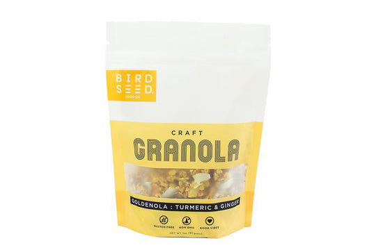 Recall: Undeclared Cashews in Birdseed Food Co. Goldenola Granola