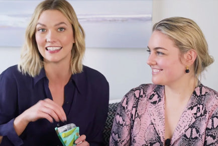 Karlie Kloss' BUBBLE Mukbang with our Founder!