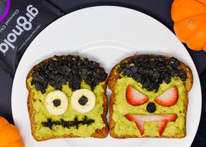 Whip It Up: Spooky Charcoal Avocado Toast